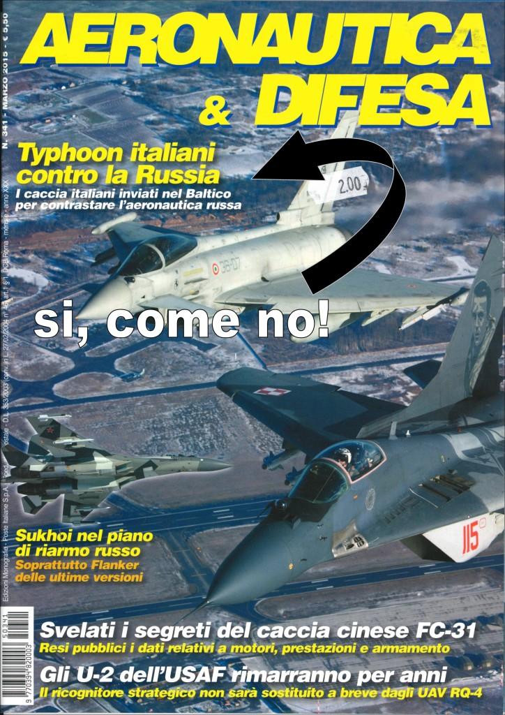 copertina aereonautica e difsa